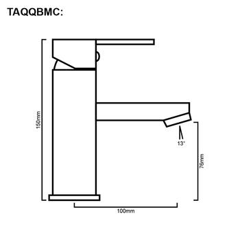 Quadro - Chrome Basin Mixer