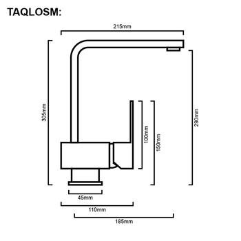 Loop - Chrome Gooseneck Sink Mixer