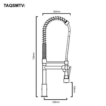 T-Veg - Chrome Veg Spray Sink Mixer