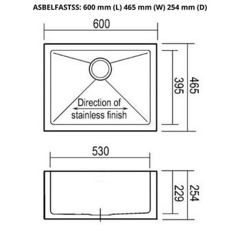 Colonial - Belfast Single Stainless Steel Sink