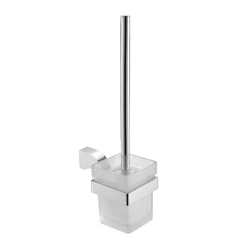 Cam - Chrome Toilet Brush and Holder