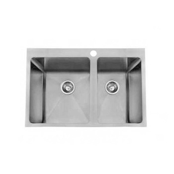 Quadro 45/30L - Stainless Steel Laundry Trough