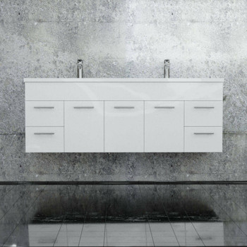 Classic - Wall Hung Vanity and Top 1500mm