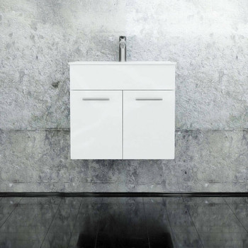 Classic - Wall Hung Vanity and Top 600mm
