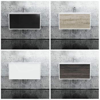 Fineline - Wall Hung Vanity and Top 900mm