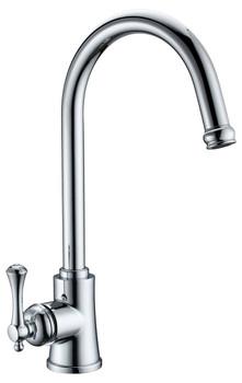 Roma - Chrome Gooseneck Sink Mixer