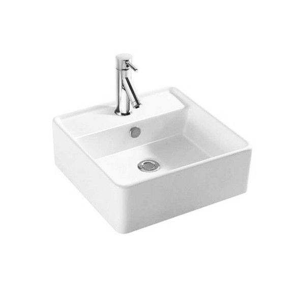 Quadro - White Above Counter Basin