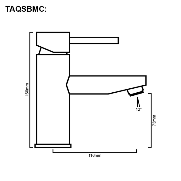 Sofia - Chrome Basin Mixer
