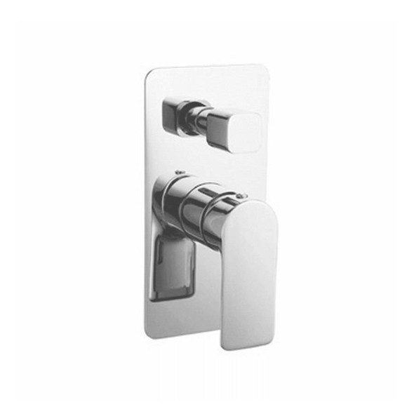 Jade - Chrome Bath/Shower Mixer With Diverter