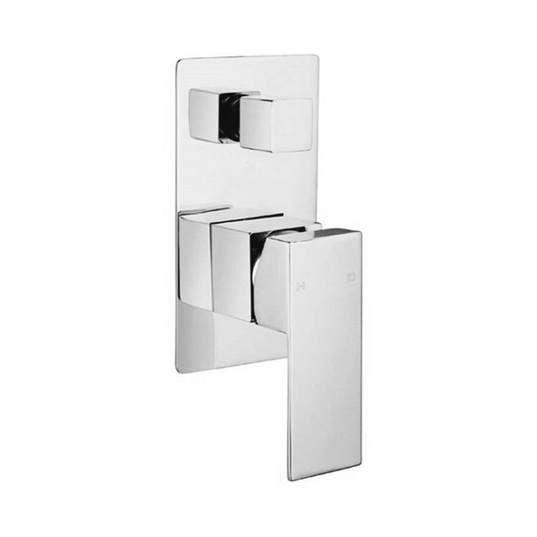 Quadro - Chrome Bath/Shower Mixer With Diverter