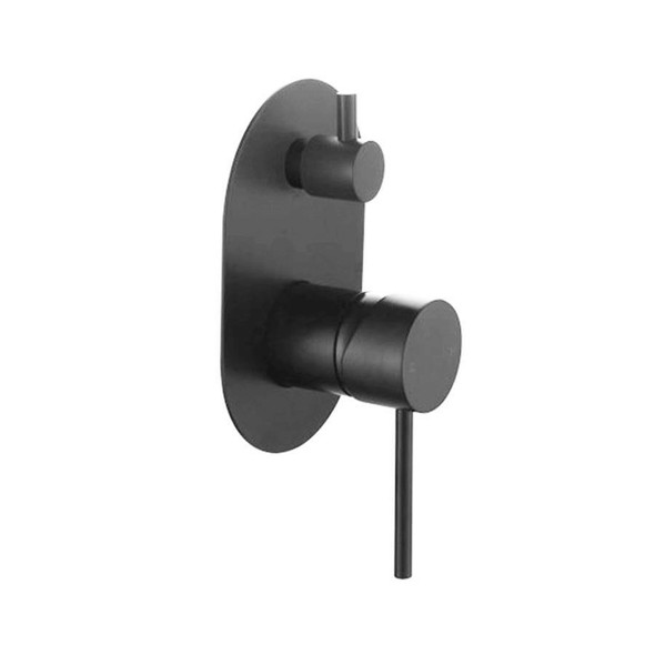 Sofia - Black Bath/Shower Mixer Diverter Mixer