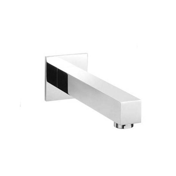 Square - Chrome Bathroom Spout