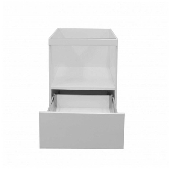 Microwave Appliance Unit Cabinet 600mm 1 Drawer