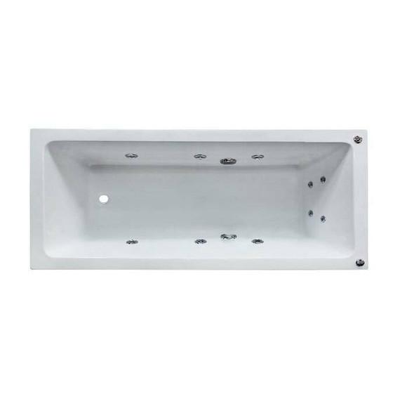 Shelly - White Inset Spa Bath 1500mm