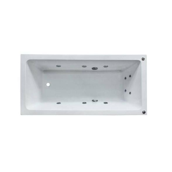 Shelly - White Inset Spa Bath 1650mm
