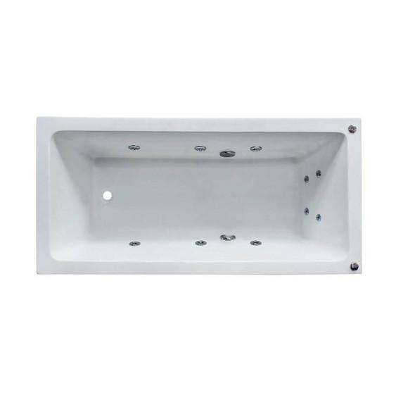 Shelly - White Inset Spa Bath 1800mm