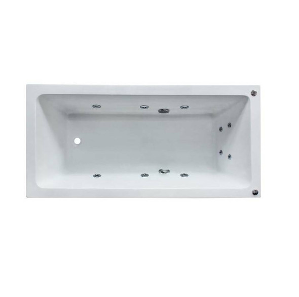 Shelly - White Inset Spa Bath 1800mm