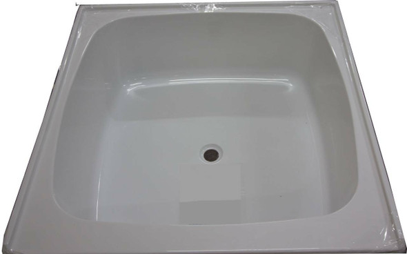 Tilley - White Shower Base/Hip Bath