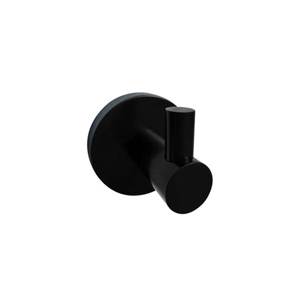 Sofia - Black Single Robe Hook