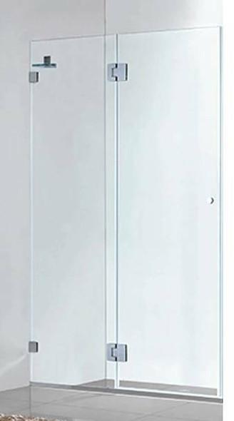 Frameless Shower Door 900mm
