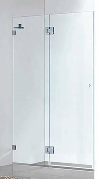 Frameless Shower Door 1000mm