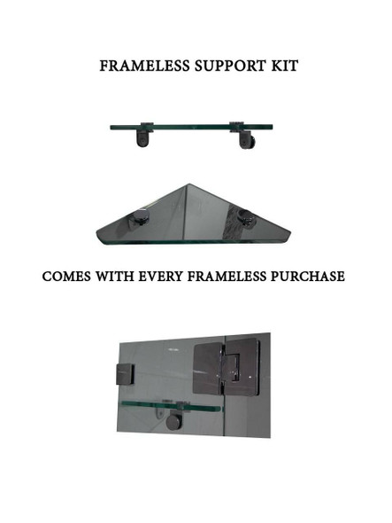Frameless Shower Panel 1200mm