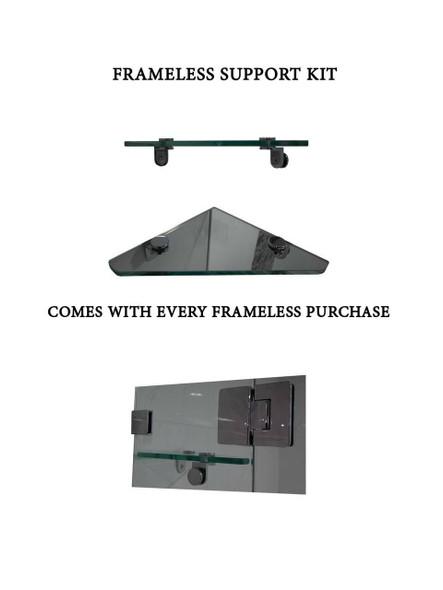 Frameless Shower Panel 1400mm