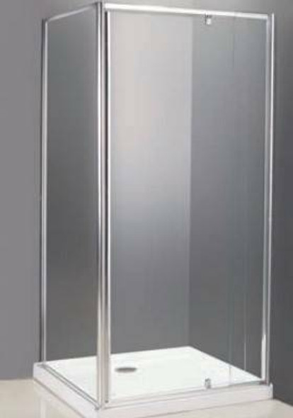 Alcove Shower Cubicle With Return 1000mm