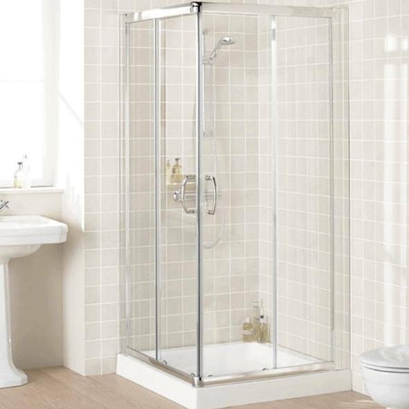 Corner Entry Shower Cubicle 900mm