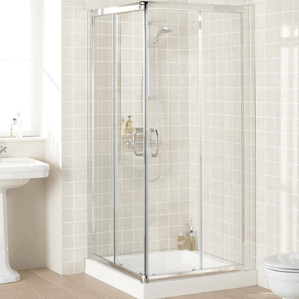 Corner Entry Shower Cubicle 900mm