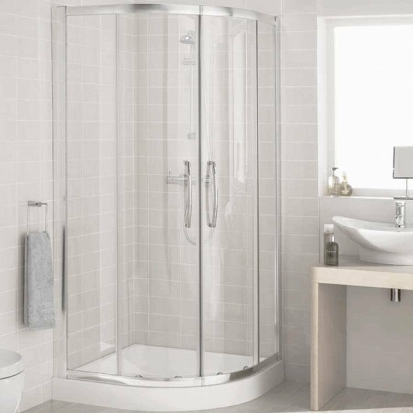Round Shower Cubicle 900mm