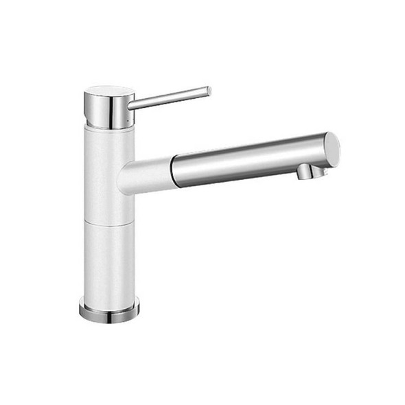 Blanco Alta - White Pullout Sink Mixer