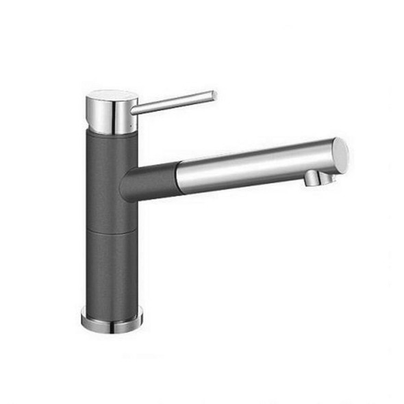 Blanco Alta - Grey Pullout Sink Mixer
