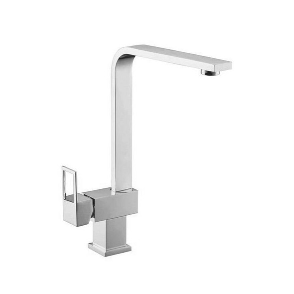 Loop - Chrome Gooseneck Sink Mixer