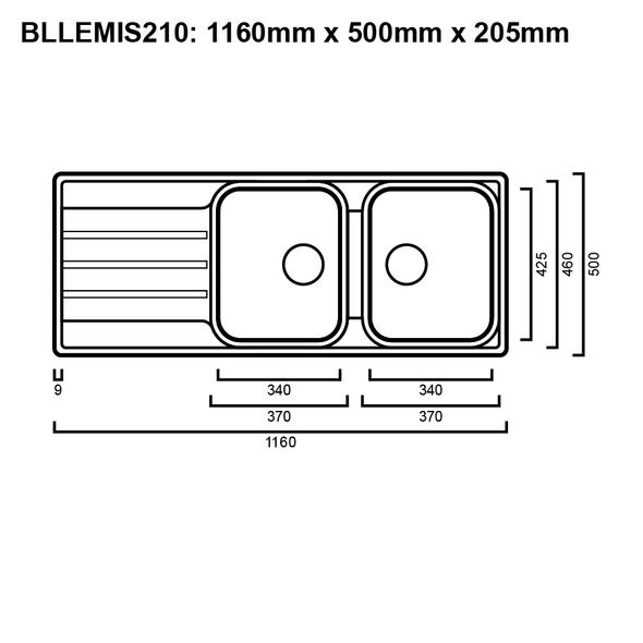 Blanco Lemis 210 - Inset Sink