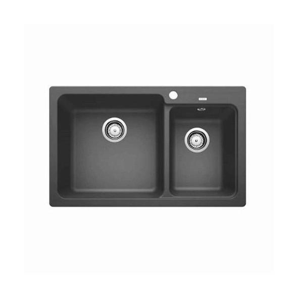 Blanco NAYA8 - Grey Granite No Drainer Inset Sink