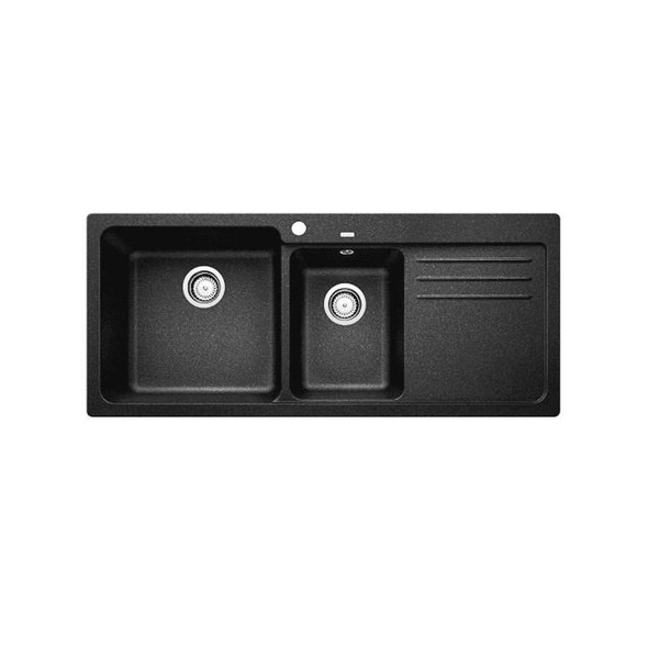 Blanco NAYA8 175 - Black Granite Inset Sink