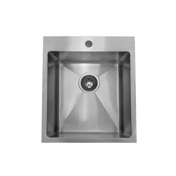 Tech 100 - Stainless Steel Inset Sink No Drainer