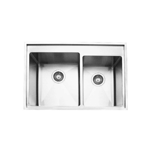 Tech 175ND - Stainless Steel Inset Sink No Drainer