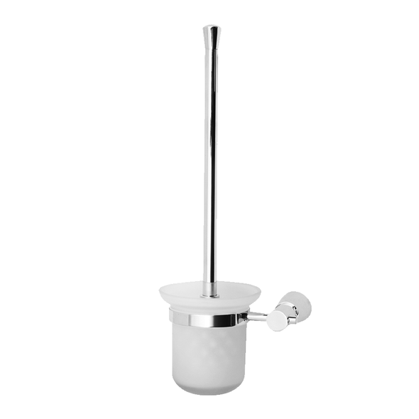 Boston - Chrome Toilet Brush and Holder