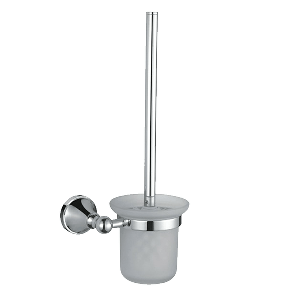 Roma - Chrome Toilet Brush and Holder