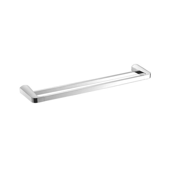 Cam - Chrome Double Towel Rail 800mm