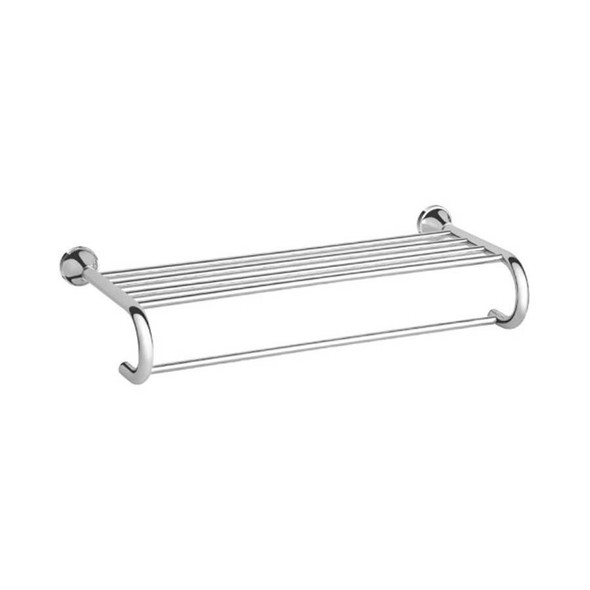 Roma - Chrome Towel Shelf
