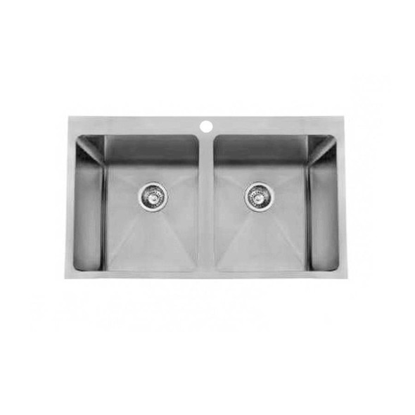 Quadro 45/45L - Stainless Steel Laundry Trough