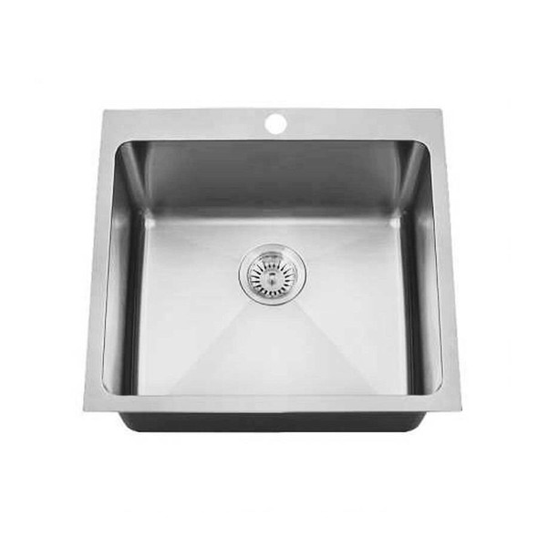 Quadro 45L - Stainless Steel Laundry Trough