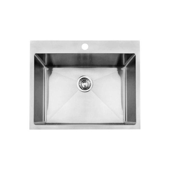 Quadro 56L - Stainless Steel Laundry Trough