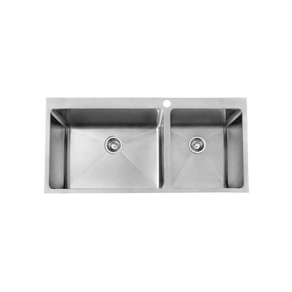 Quadro 70/45L - Stainless Steel Laundry Trough