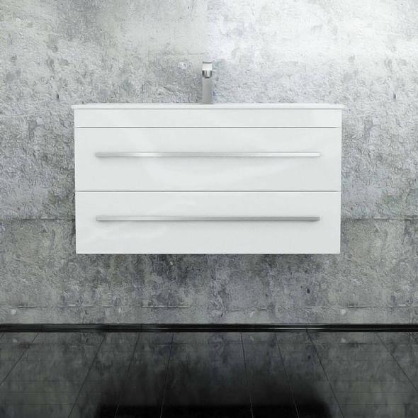 Indi - Wall Hung Vanity and Top 900mm