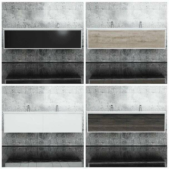 Fineline - Wall Hung Vanity Only 1800mm