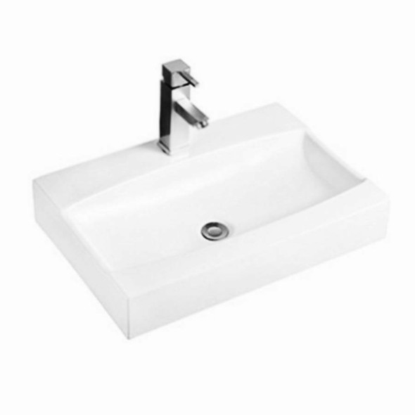 Tide - White Wall Hung Basin